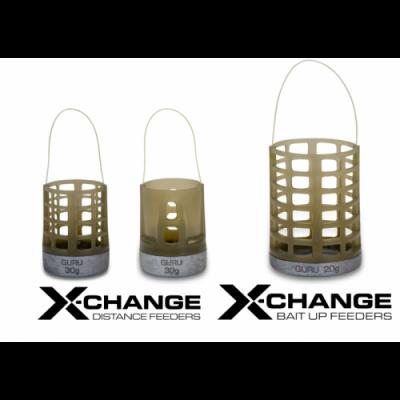 Кормушка Guru X-Change Distance Feeder Cage Large 40гр + 50гр