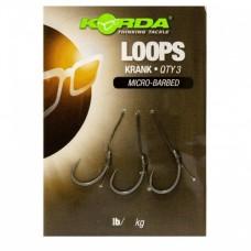 Поводок готовый Korda Loop Rigs Krank №4 18 lb