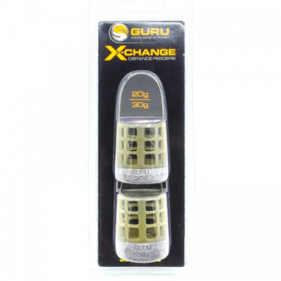 Кормушка Guru X-Change Distance Feeder Cage Small 20гр + 30гр