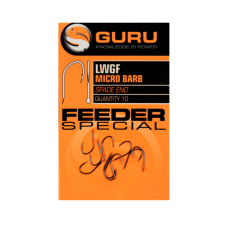 Крючок Guru LWGF Feeder Special Barbed №12 с микробородкой