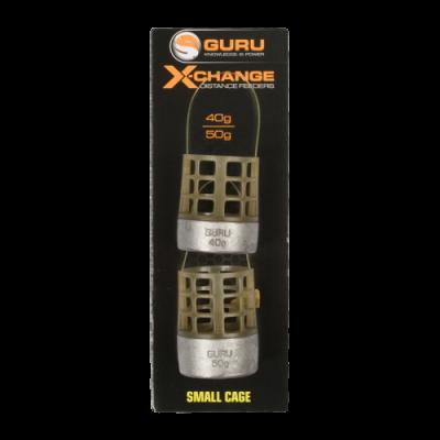 Кормушка Guru X-Change Distance Feeder Cage Small 40гр + 50гр