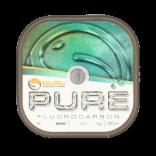 Леска флюорокарбоновая Guru Pure Fluorocarbon 0,20мм 50м