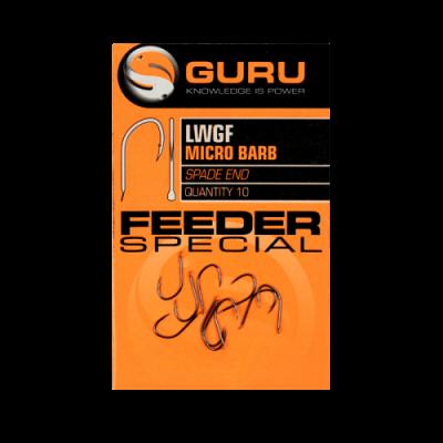 Крючок Guru LWGF Feeder Special Barbed №14 с микробородкой