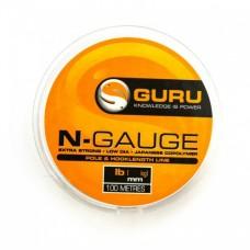Леска Guru N-Gauge 0,11мм 100м